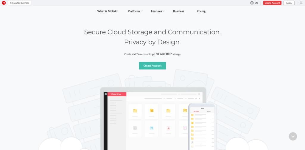 Mega Landing Page Example